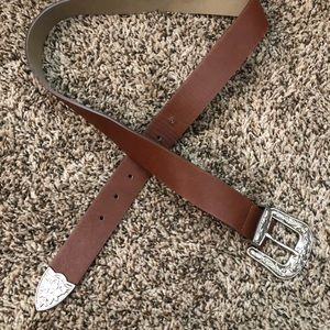 Brown Western Belt